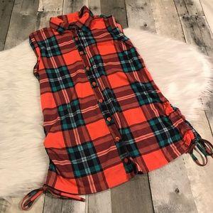 Rue 21 sleeveless blouse size M